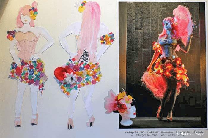 Bewerbungsmappe Modedesign Beispiele Mode Studierende