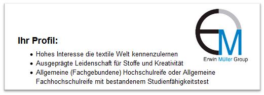 Duales Studium Textilmanagement: Hochschulen, Unternehmen